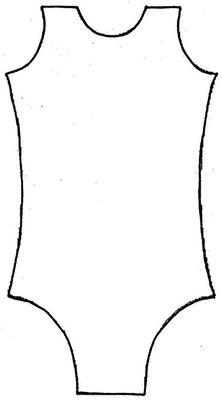 Model 00 - Turnpakje naar eigen ontwerp